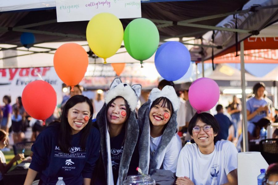 A WISH COME TRUE: Students participate in thrilling activites and enjoy food from cultural vendors with friends.