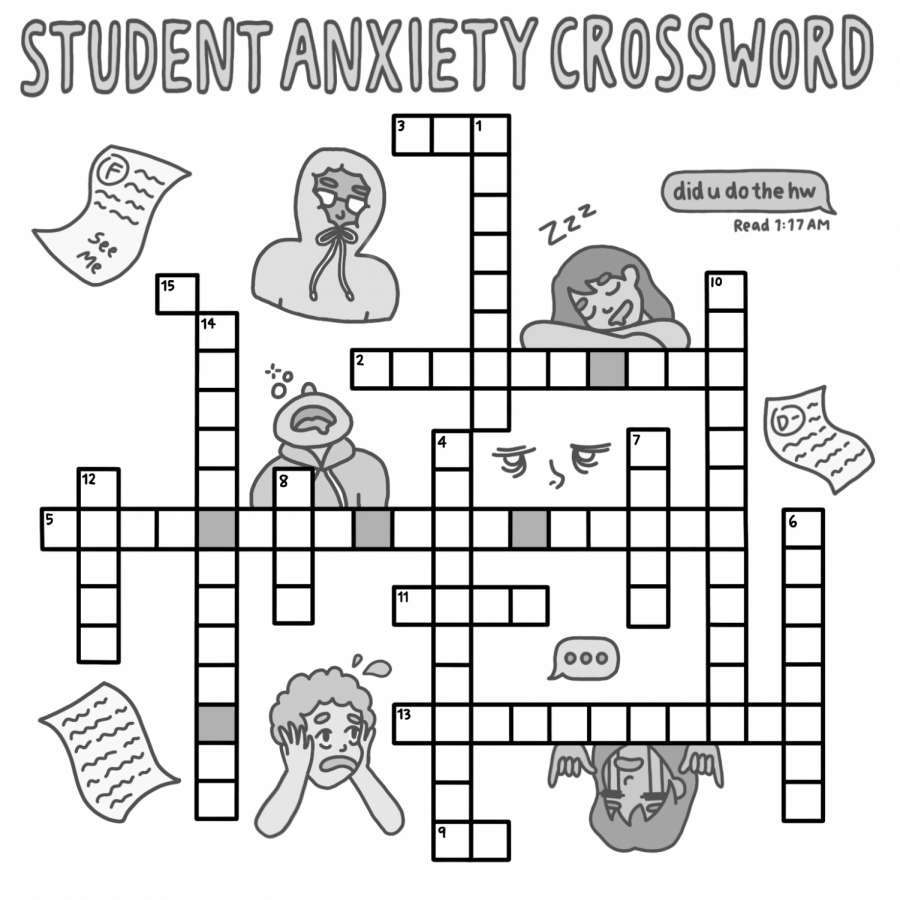 Student+anxiety+crossword