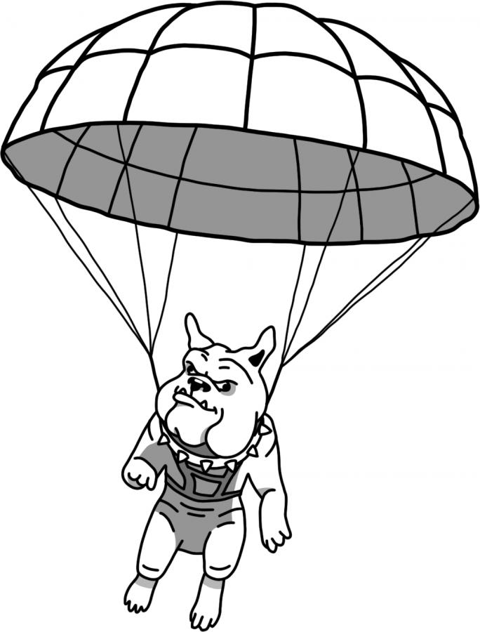 Irrelevant Portola High School Parachuter