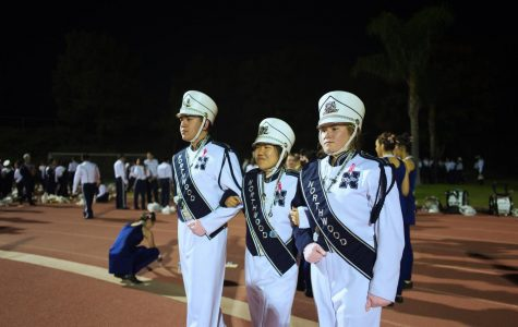 Attention! This year's drum majors