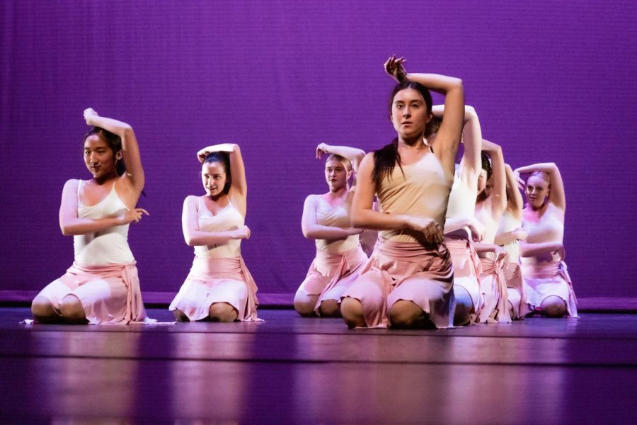 SO YOU THINK YOU CAN DANCE?: Dance Theater and Dance Three students perform heartfelt pieces that they choreographed.