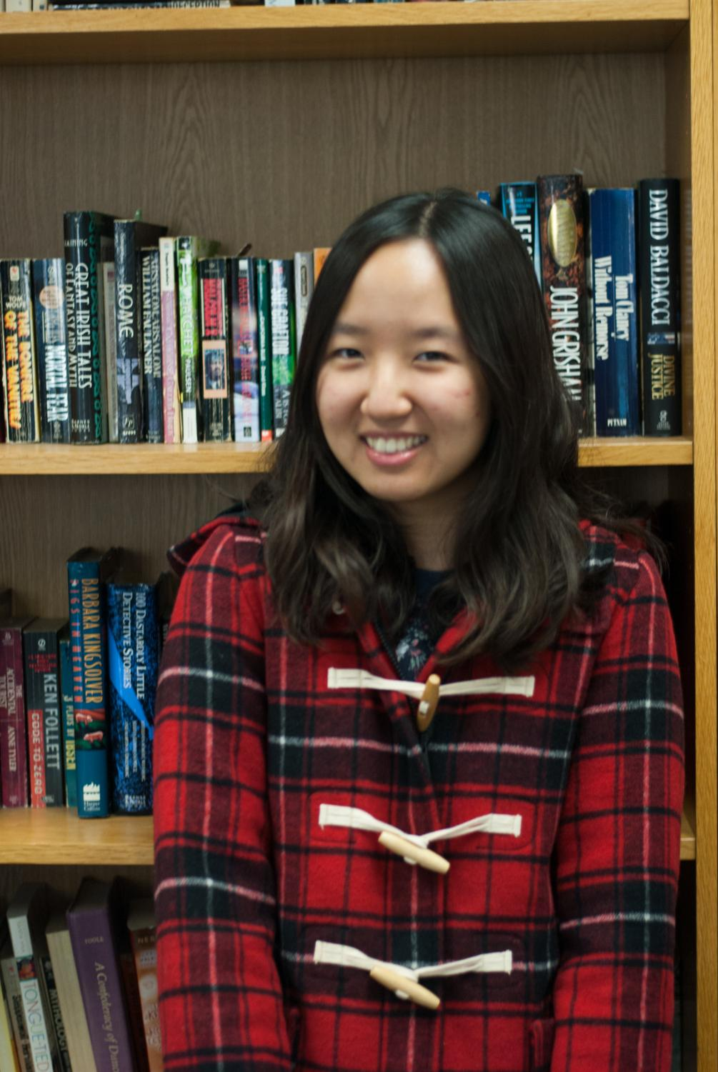 INNOVATING SCIENCE: Senior Karen Chung is named one of the Top 300 scholars.