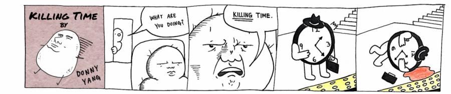donny comic
