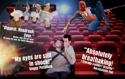 """50 OUT OF 50: Acclaimed theater critic Alex rates the Irvine Spectrum's new showstopping theater cinematic experience with the """"highest score ever given in cinematic history""""−a score nearly on par with the Cats movie."""
