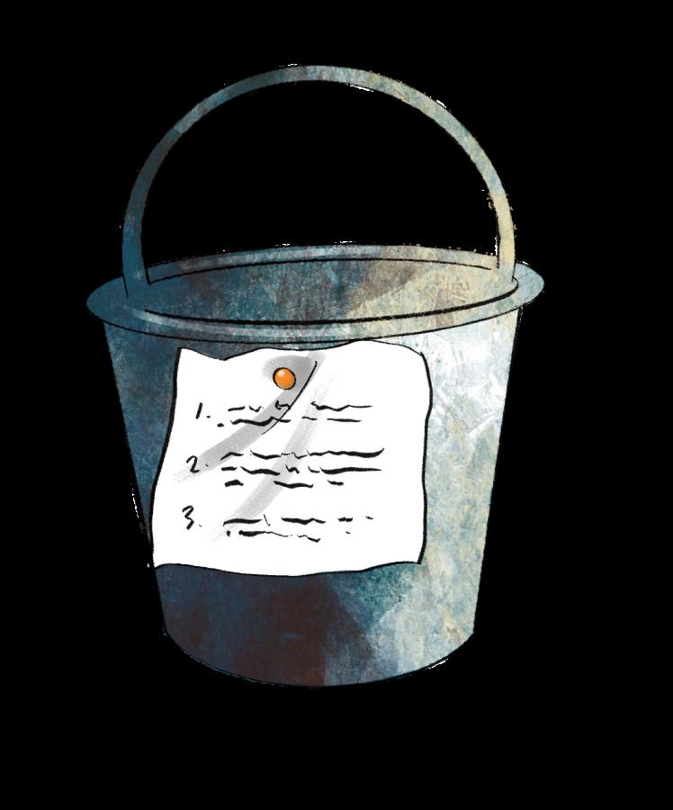 Bucket list to do b4 ur 2 cool