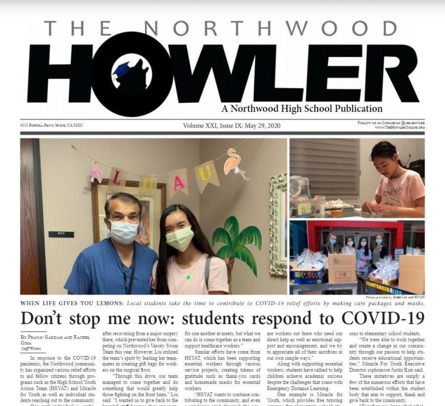 May Howler Issue, Volume XXI, Issue IX