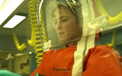 """ENDLESS WORK: Dr. Ally Hextall works in a lab to find the origins of the virus to develop a vaccine in """"Contagion."""""""
