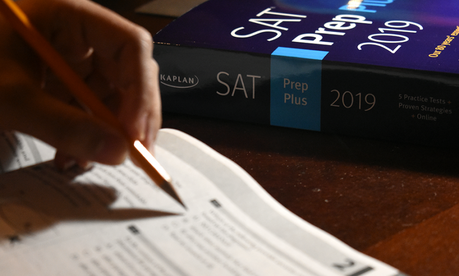 TEST+PREP%3A+A+student+attempts+to+solve+practice+problems+to+prepare+for+the+SAT.+