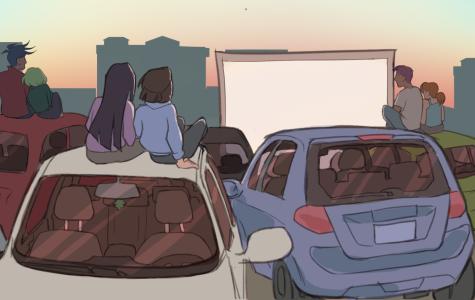 Summer Irvine movie drive-in