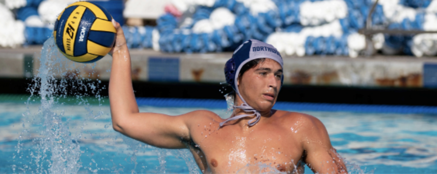 Interviewing water polo sensation Max Abravanel
