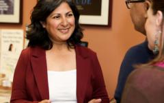 LOOKING FORWARD: Farrah Khan pushes for a progressive Irvine.