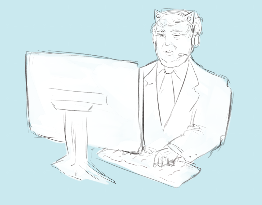 Trump creates the internet
