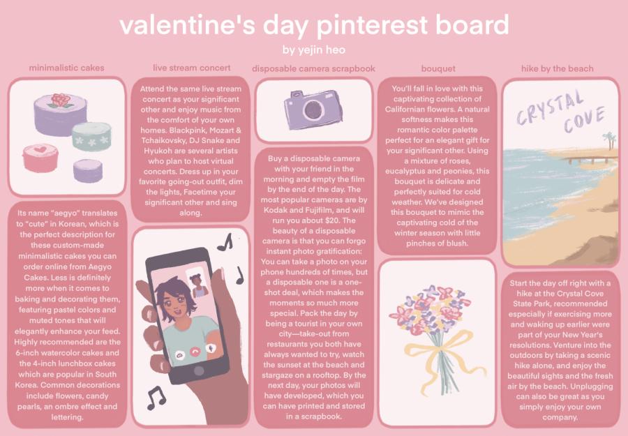 Valentine's Day pinterest board