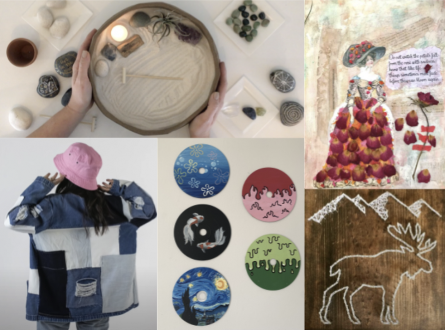 Crafty Creations: Art projects to try at home