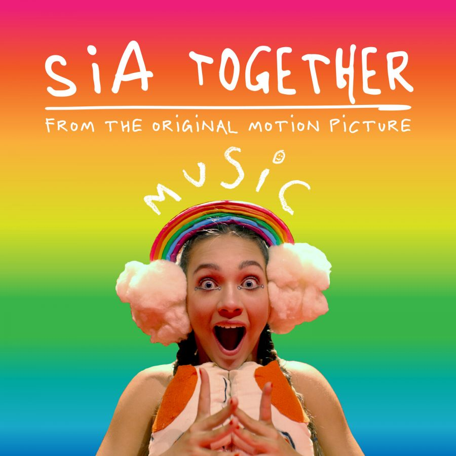 "A MISGUIDED ""LOVE LETTER"": Maddie Ziegler gapes at the camera with wide eyes as she attempts to mimic austistic body language in Sia's movie ""Music,"" a supposed ""love letter"" to the autistic community."