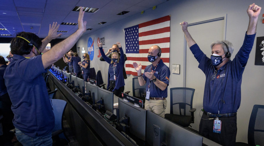 NASA's Perseverance rover team ecstatic after confirmation of a successful landing