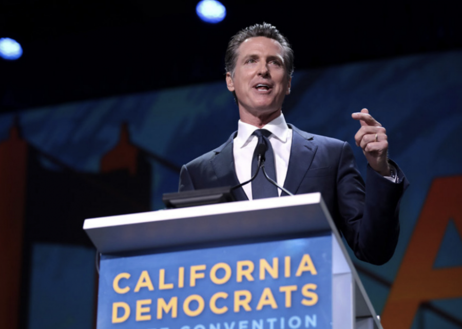 THE+CALL+FOR+REPLACEMENT%3A+California+Democratic+Gov.+Gavin+Newsom+faces+a+potential+recall+election+after+receiving+backlash+for+his+response+to+the+COVID-19+pandemic.