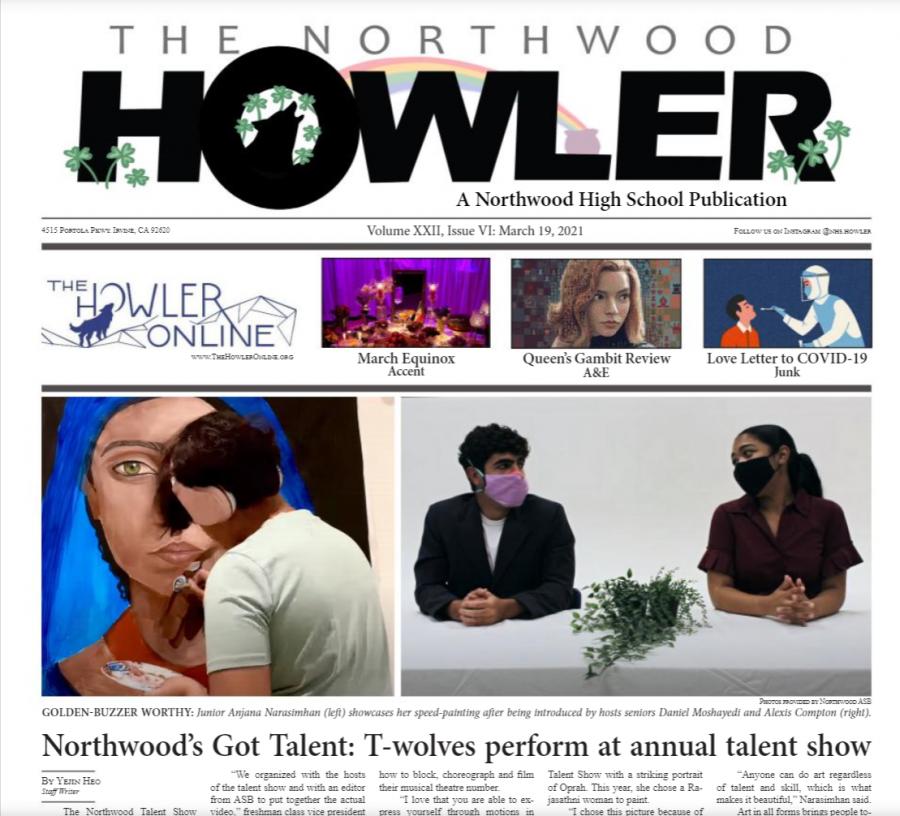 March Howler Volume XXII, Issue VI