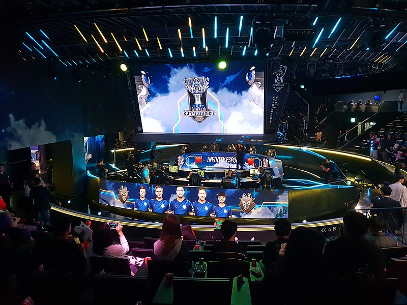 A SIGN OF THE TIMES: The League of Legends park has been recently repurposed as a streaming center for esports, rather than an arena.