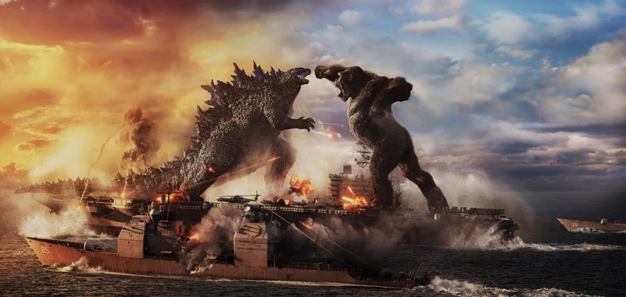 BEAUTIFULLY CHAOTIC: Intricate CGI and gorgeous sceneries make the fights between the two titans that much more exciting.