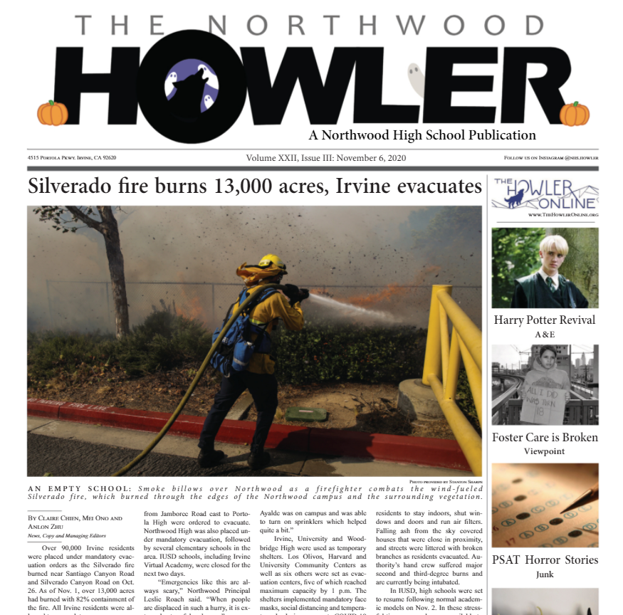 October Howler Volume XXII, Issue III