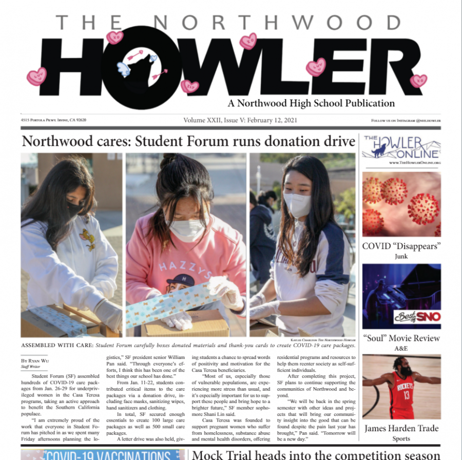 February Howler Volume XXII, Issue V