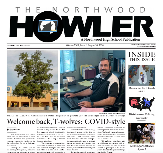 August Howler Volume XXII, Issue I