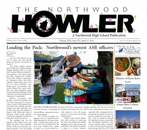 April Howler Volume XXII, Issue VII