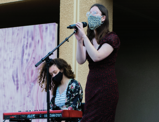 """Raw Talent: Juniors Adrianna Isabel Machado and Liv Majestic cover """"Parting Gift"""" by Fiona Apple."""