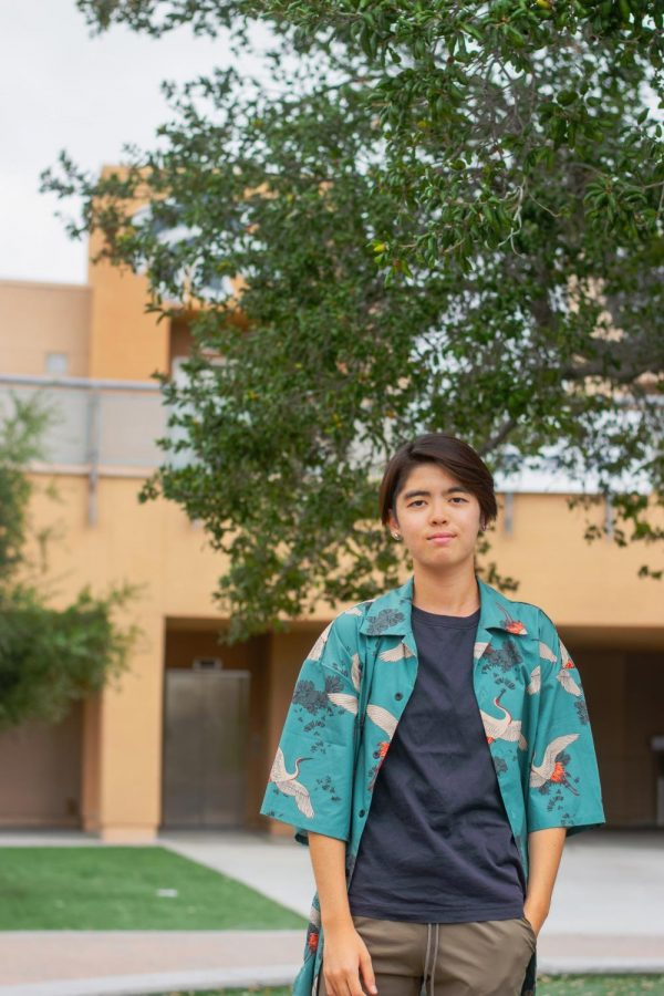 MEI THE FORCE BE WITH YOU: Senior Mei Ono leads The Howler into its 23rd year of publication.
