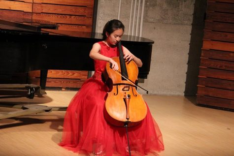 Irene Lee performs with NYO
