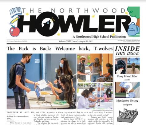 BTS Howler Volume XXIII, Issue I