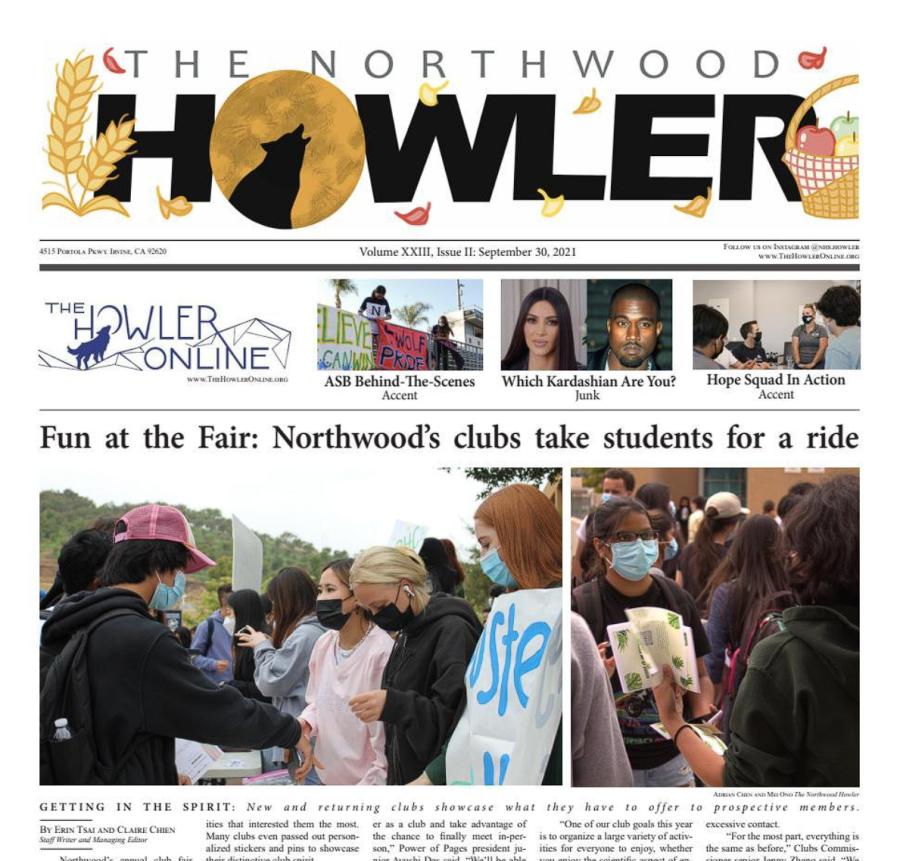 September Howler Volume XXIII, Issue II