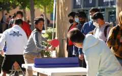 King of the court: Instead of just staying in classrooms, ASB also sets up activities outside to keep students active.