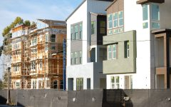 UNDER CONSTRUCTION: Rising population growth in Irvine poses challenges to resident satisfaction in the future.