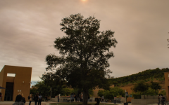 FIERY SKIES: Northwood students are greeted by thick smoke from the Dixie Fire in Northern California as they step outside.