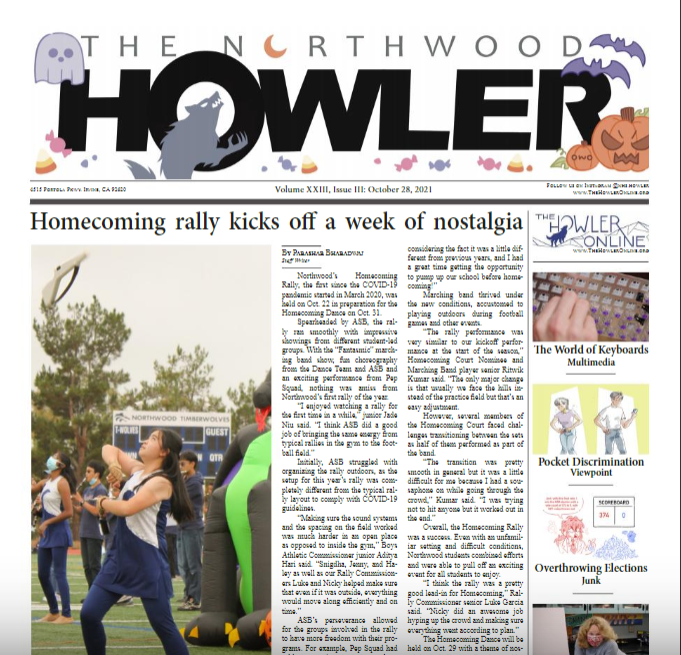 October Howler Volume XXIII, Issue III